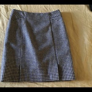Boden wool tweed pencil skirt - size 0